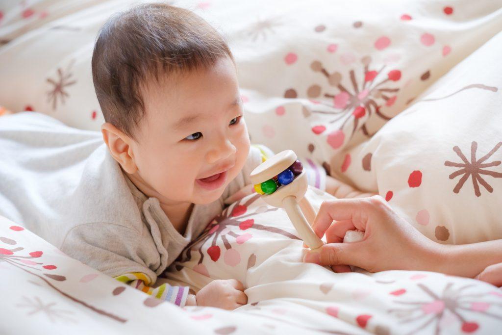 子供の笑顔を撮る方法